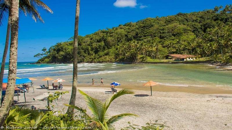 Conheca a Praia de Jeribucacu em Itacare